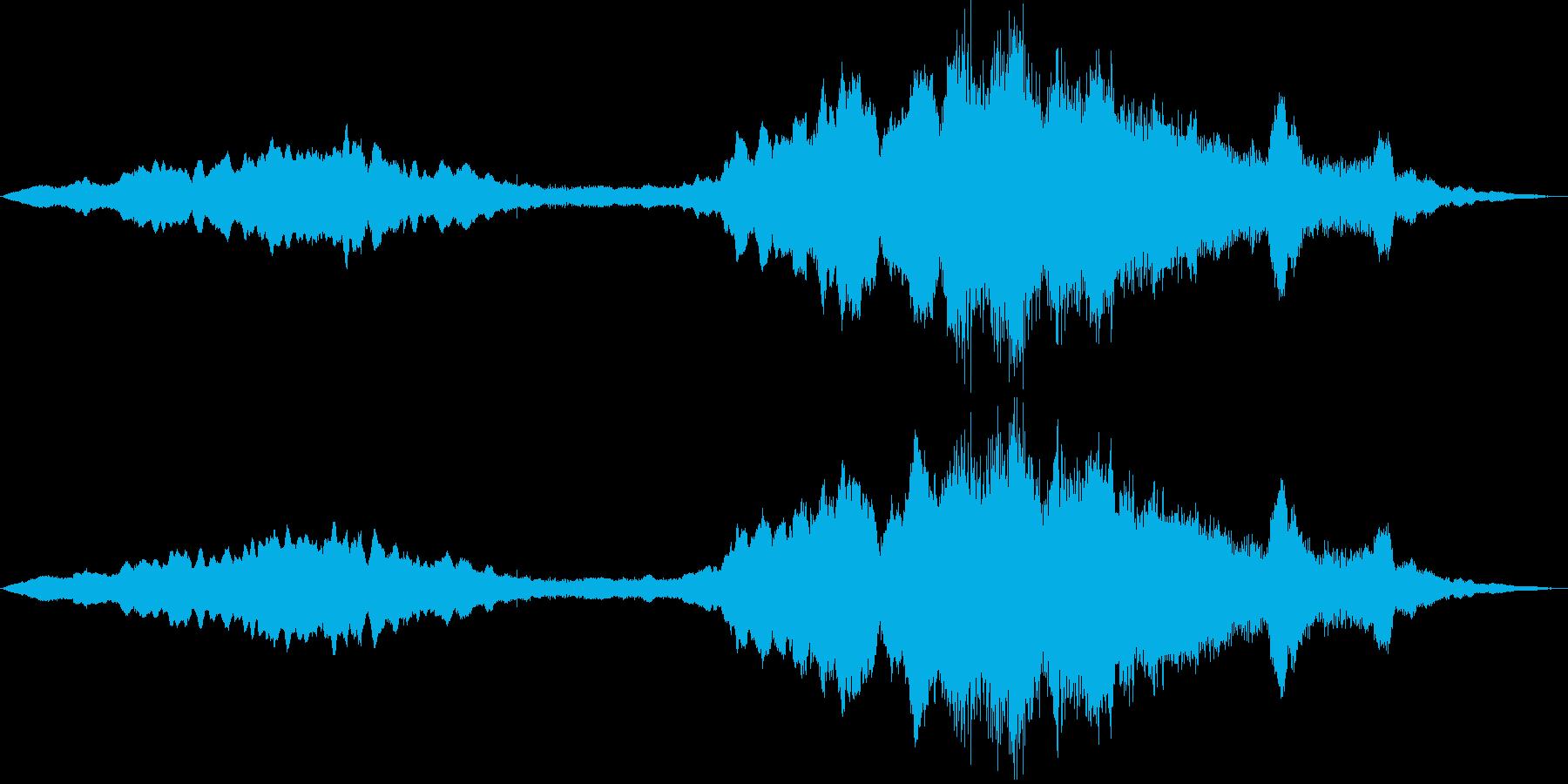 ストリングスのみのチューニングの再生済みの波形