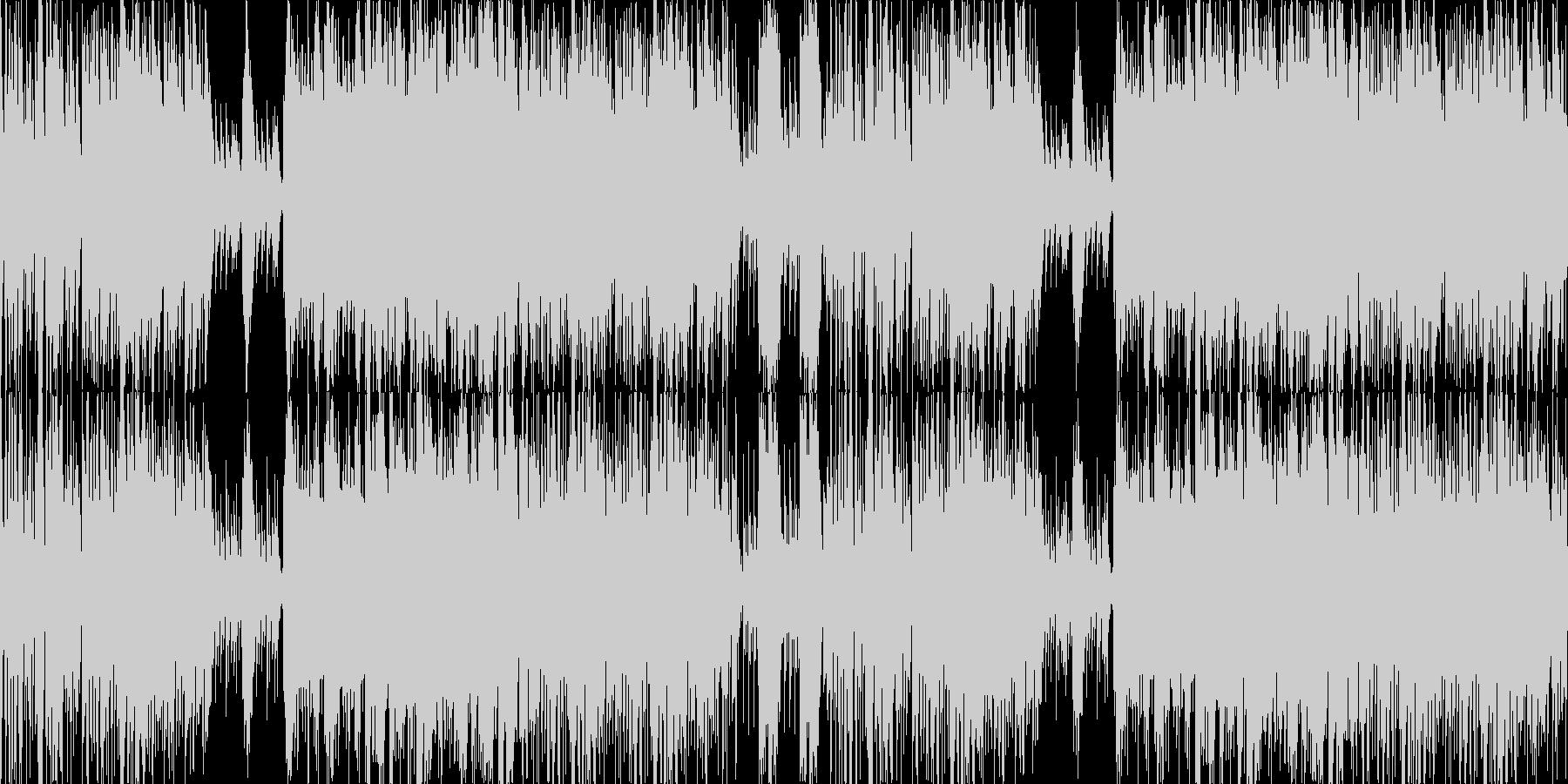 琴和太鼓ポップで和風楽曲ループ企業VPの未再生の波形