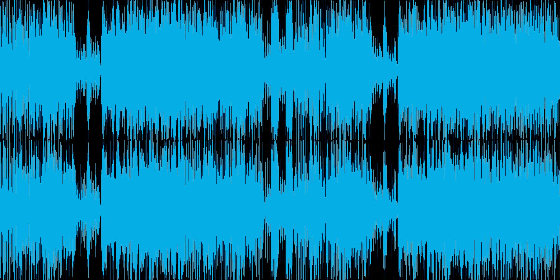 琴和太鼓ポップで和風楽曲ループ企業VPの再生済みの波形