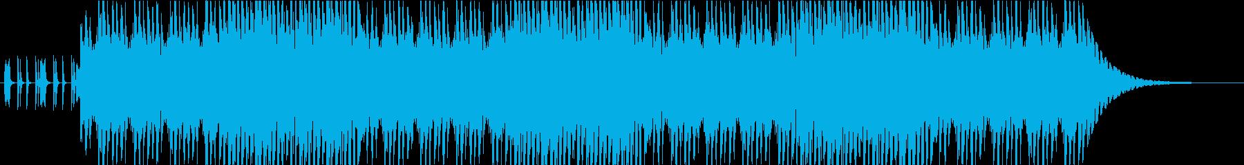軽快なアコースティックアンサンブルの再生済みの波形