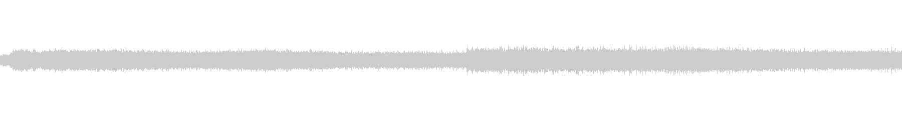ジージーという蝉の声の未再生の波形