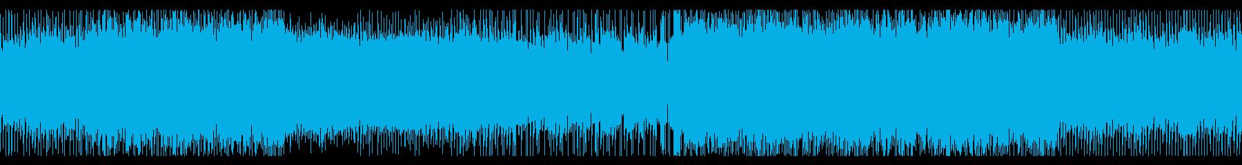 ピアノ/EDM/ゲーム・映像等のBGMにの再生済みの波形