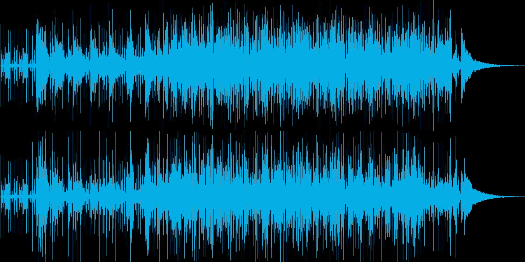 アコギ、ボイパメインの情熱的な雰囲気の再生済みの波形