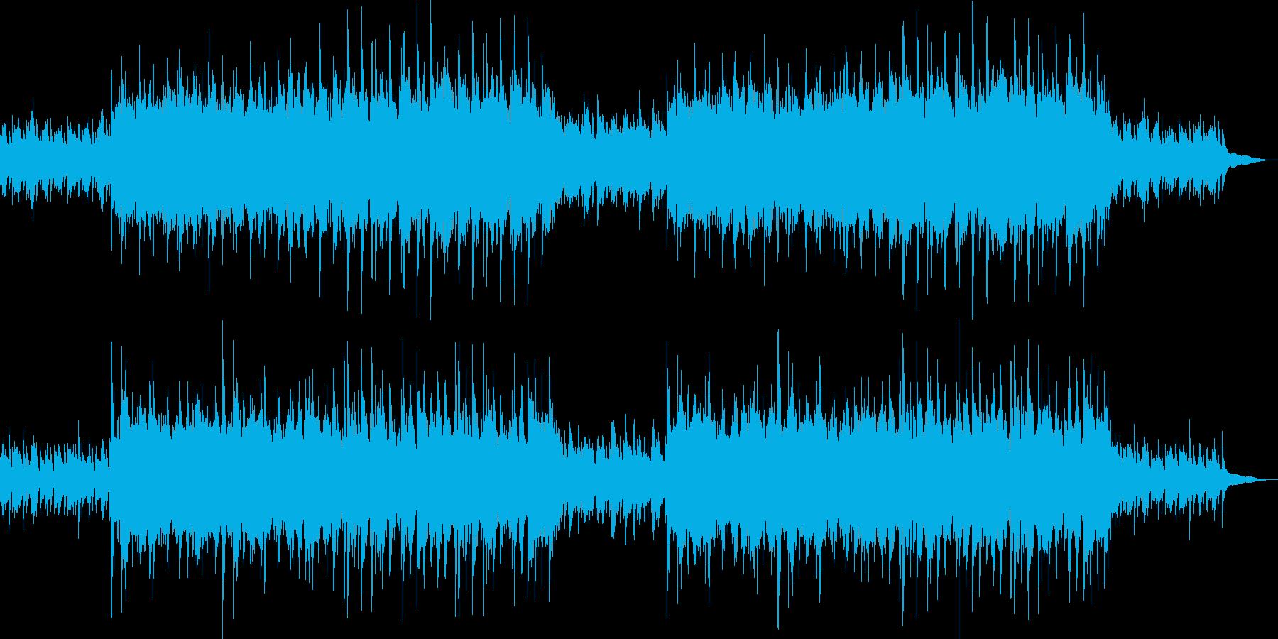 ピアノとストリングスの爽やかなポップの再生済みの波形