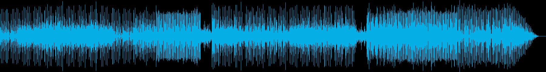 ダンサンブルでクールなエレクトロの再生済みの波形