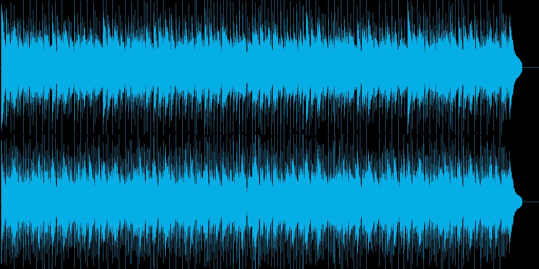 レトロゲーム風ののんびり和風ポップの再生済みの波形