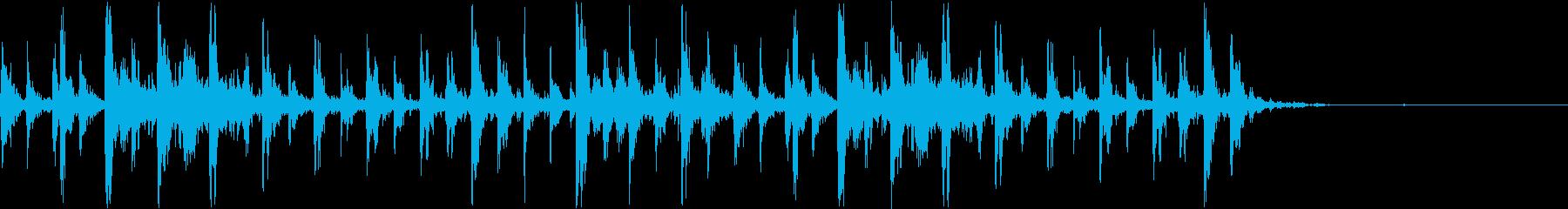 シャンシャンシャン クリスマスの鈴2の再生済みの波形