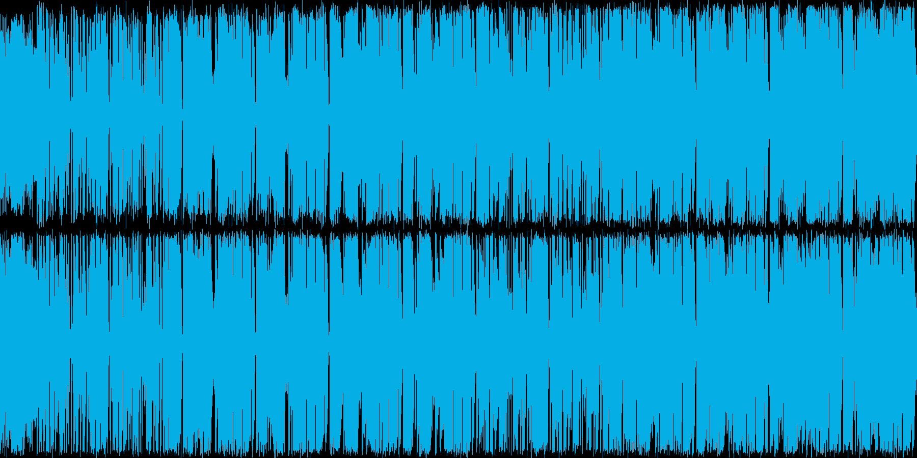 架空のアイドルヒロインの軽快なイメージ…の再生済みの波形