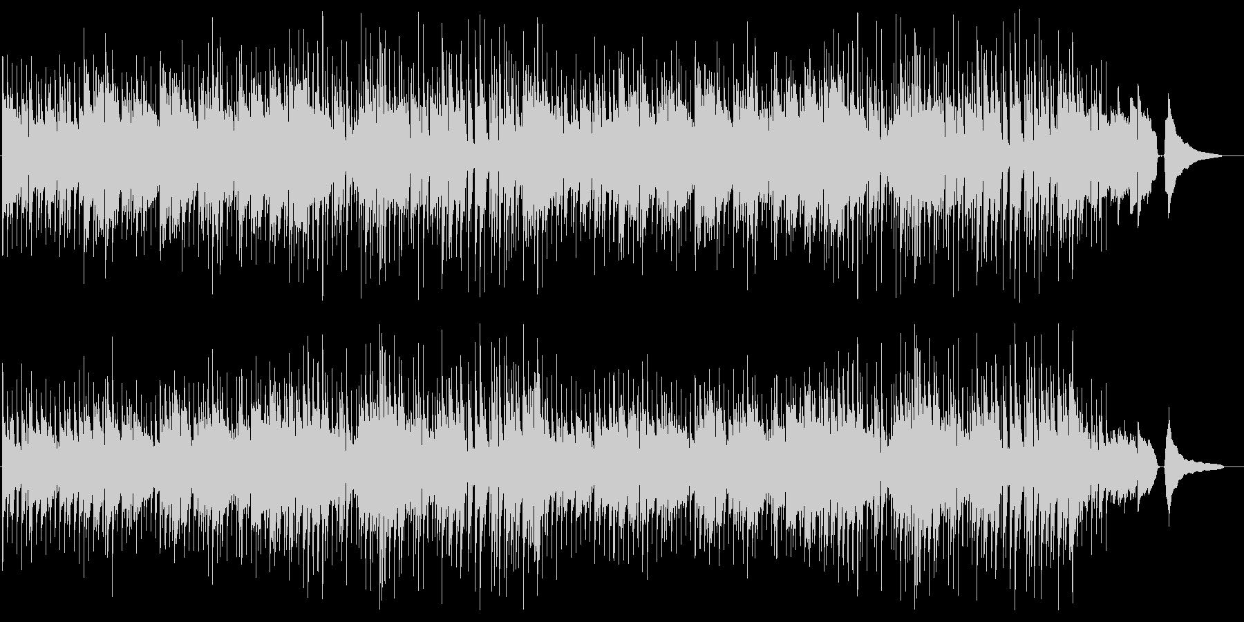 ほのぼのした雰囲気のポップスの未再生の波形