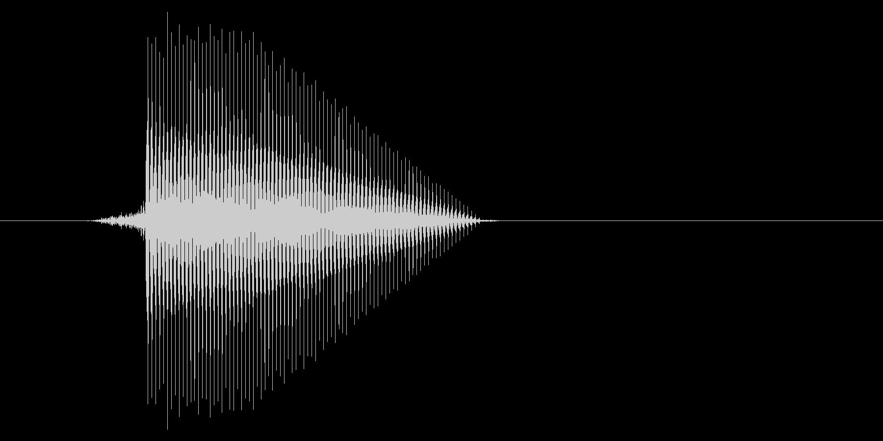 ゲーム(ファミコン風)セレクト音_005の未再生の波形