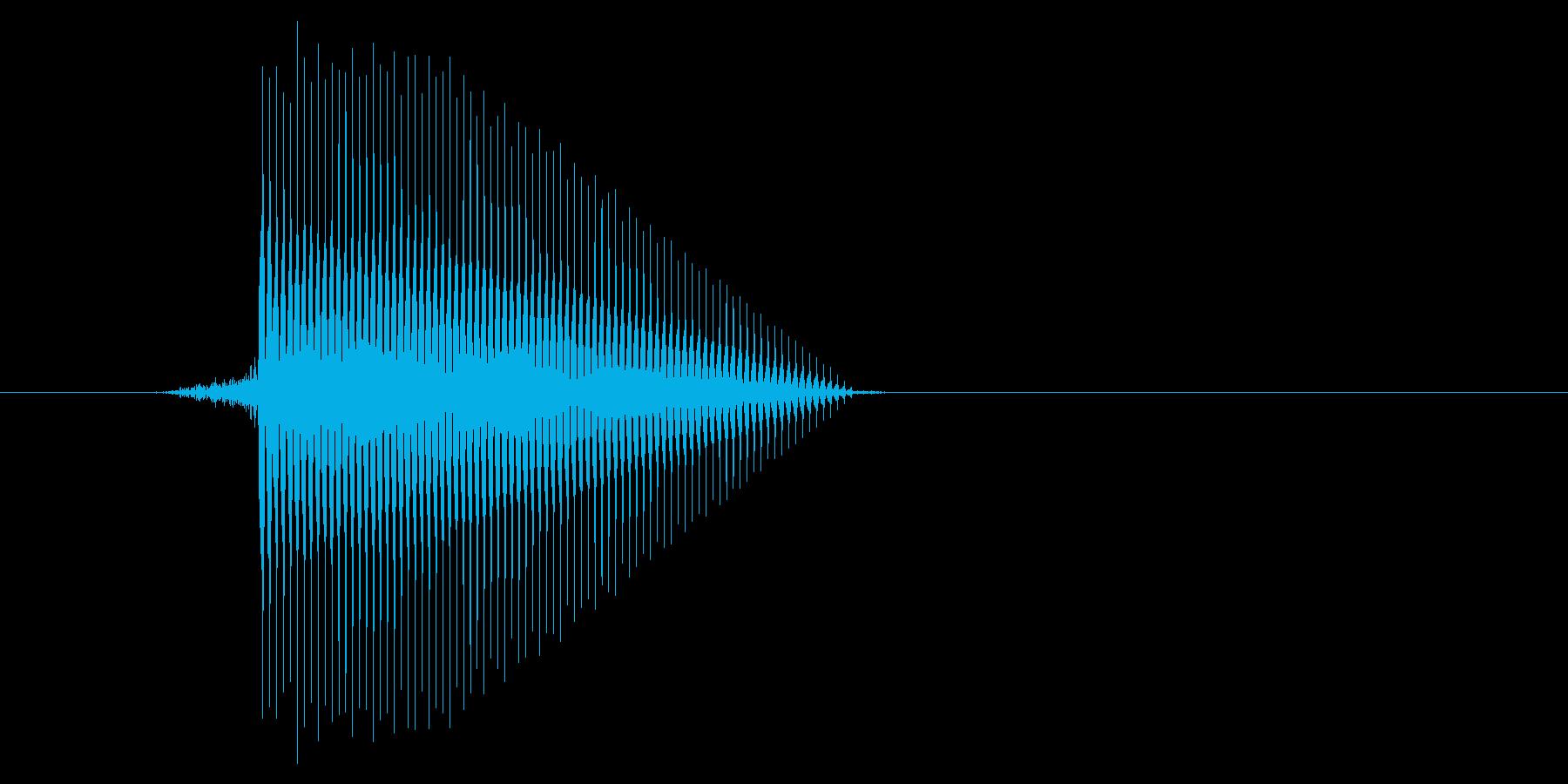 ゲーム(ファミコン風)セレクト音_005の再生済みの波形