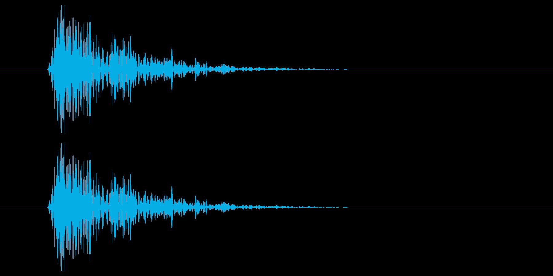 シュン!(素振り、空振りなど)の再生済みの波形