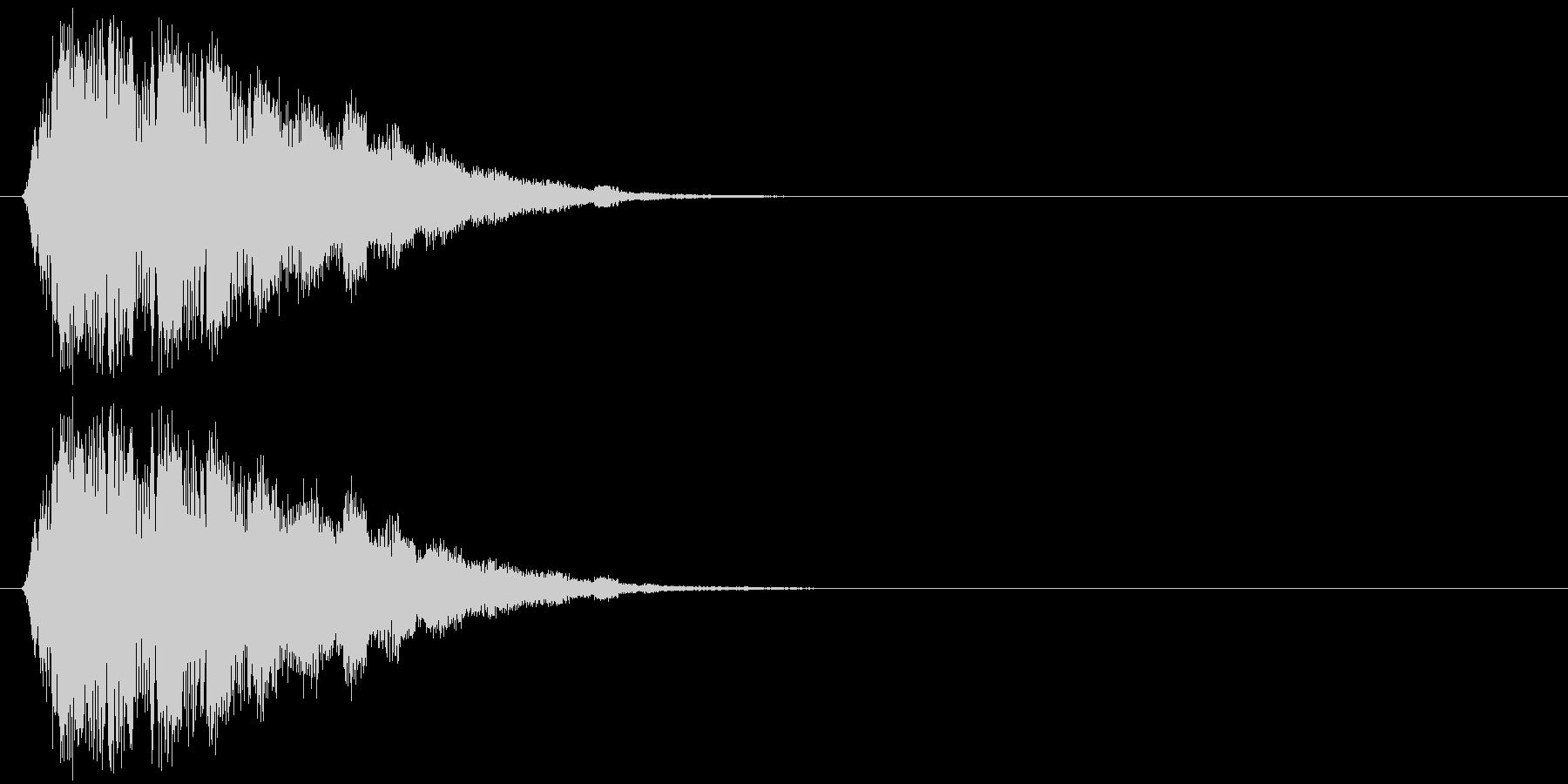 キラキラキラッ↑(魔法、可愛い)の未再生の波形