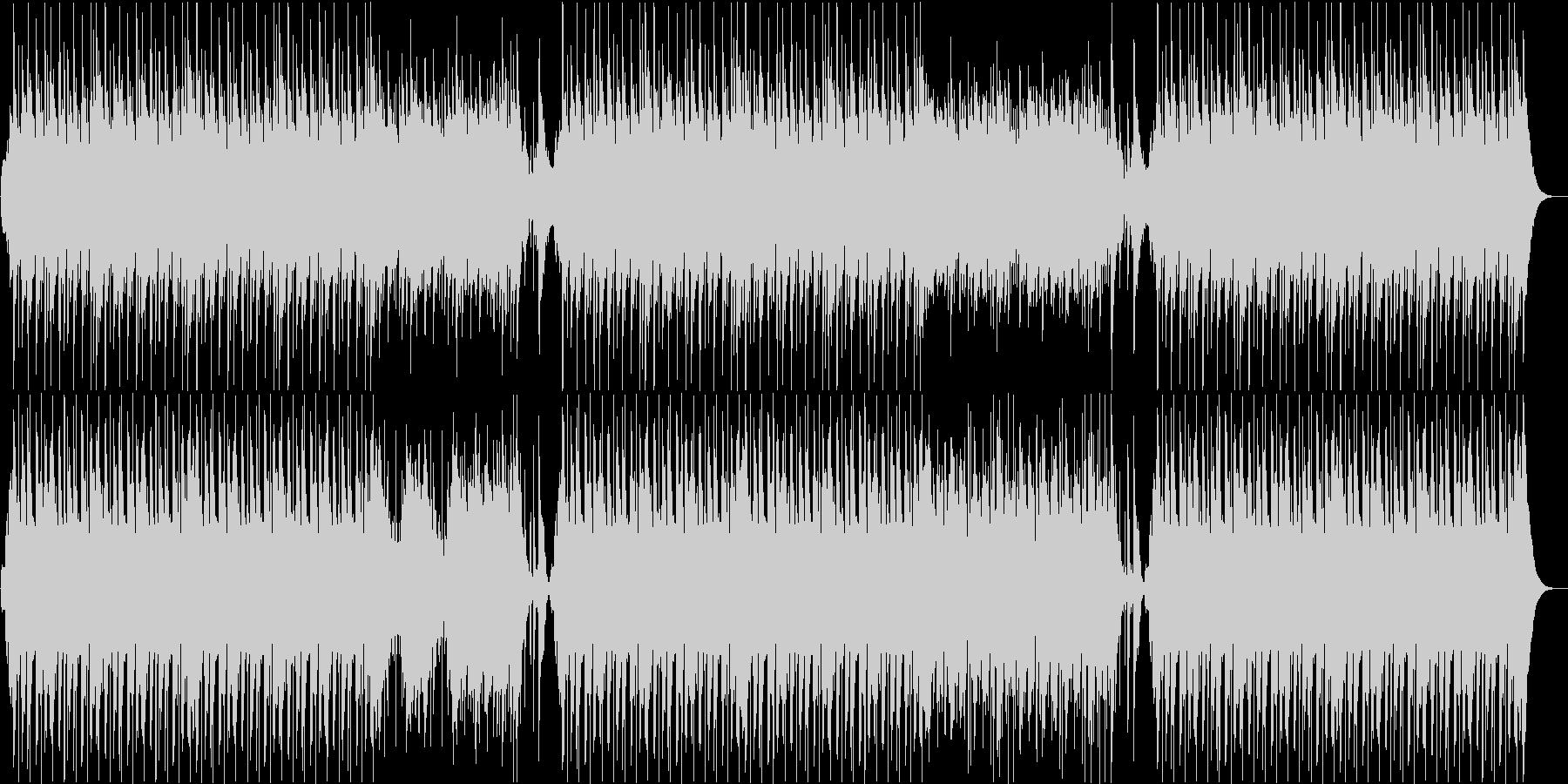 琴・尺八・三味線・和太鼓の純和風BGMの未再生の波形
