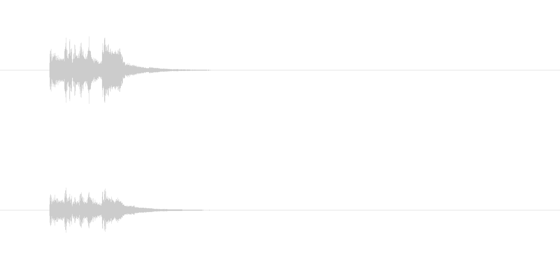 トランペット ドラム 華やか 明るいの未再生の波形