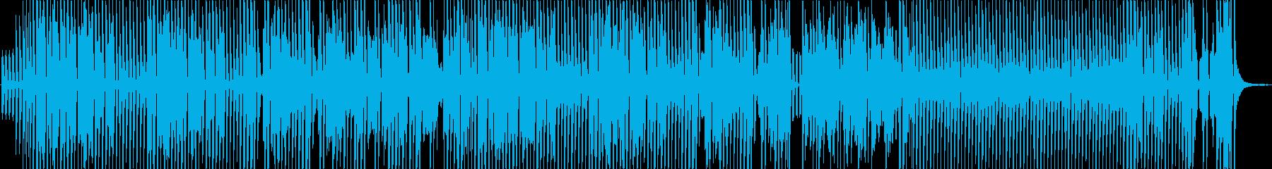 テンポの良い明るく元気なリコーダーBGMの再生済みの波形