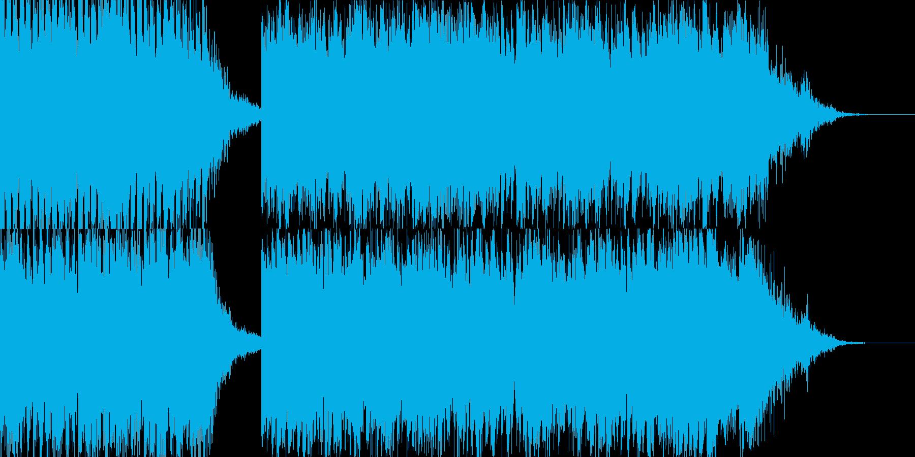 惑星のイメージの再生済みの波形
