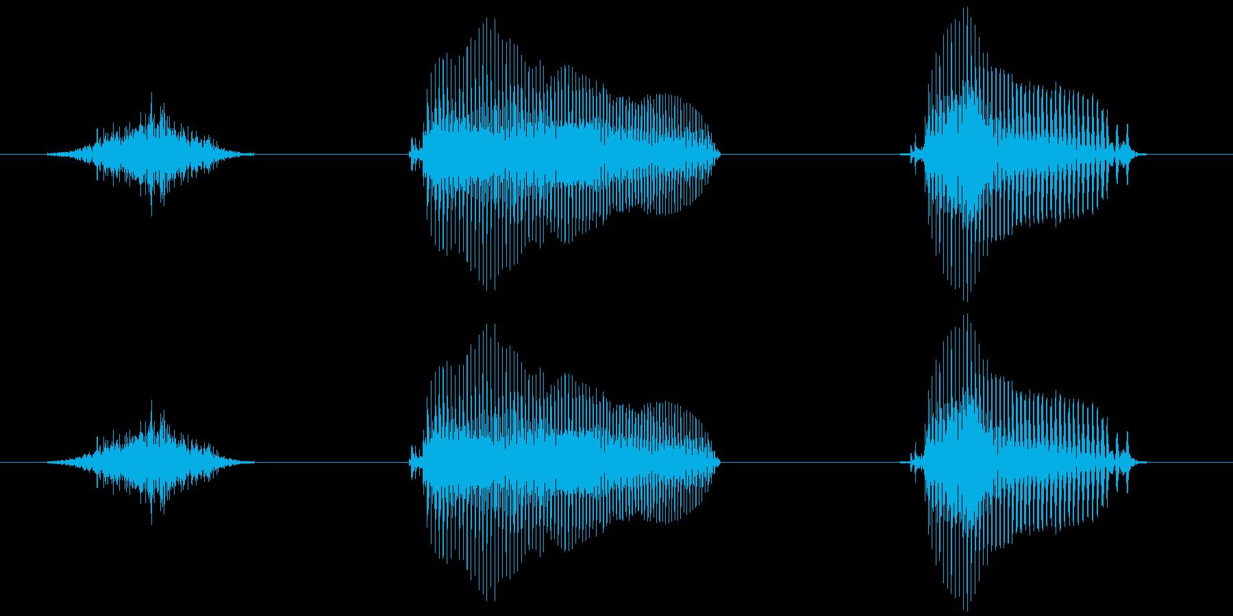 スタート!(子供)【ゲーム・動画開始】の再生済みの波形