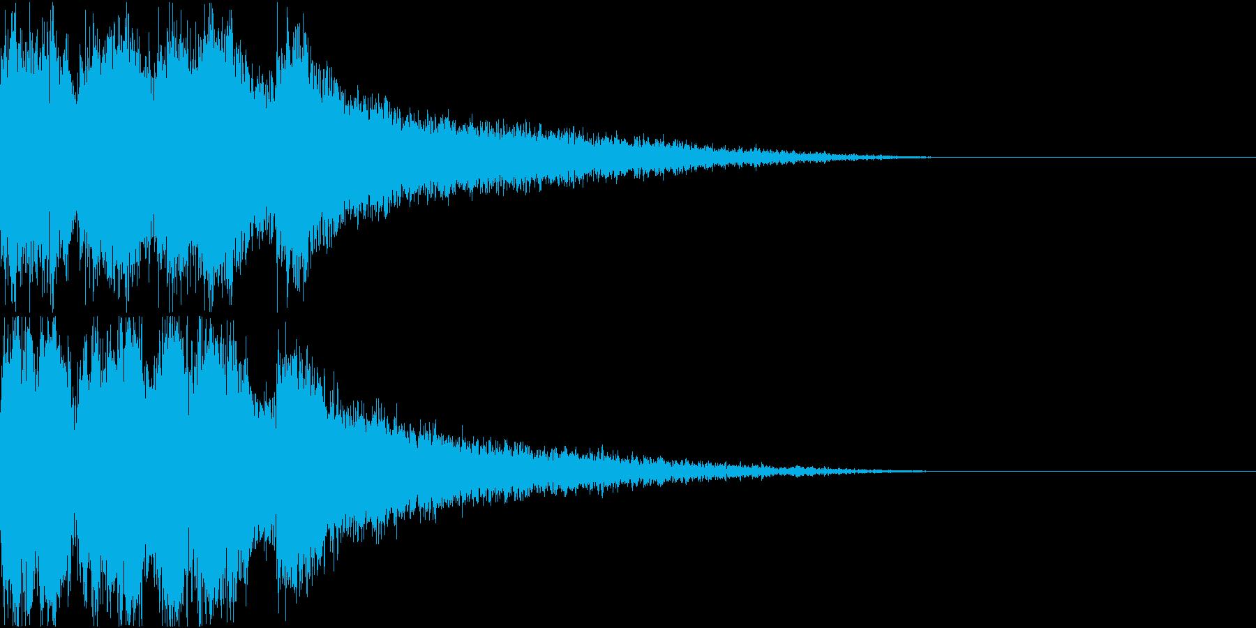 スタート アイテム 使う レベルアップ2の再生済みの波形