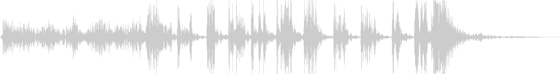 ゴム風船が軋み割れる音_グググ…パンッ!の未再生の波形