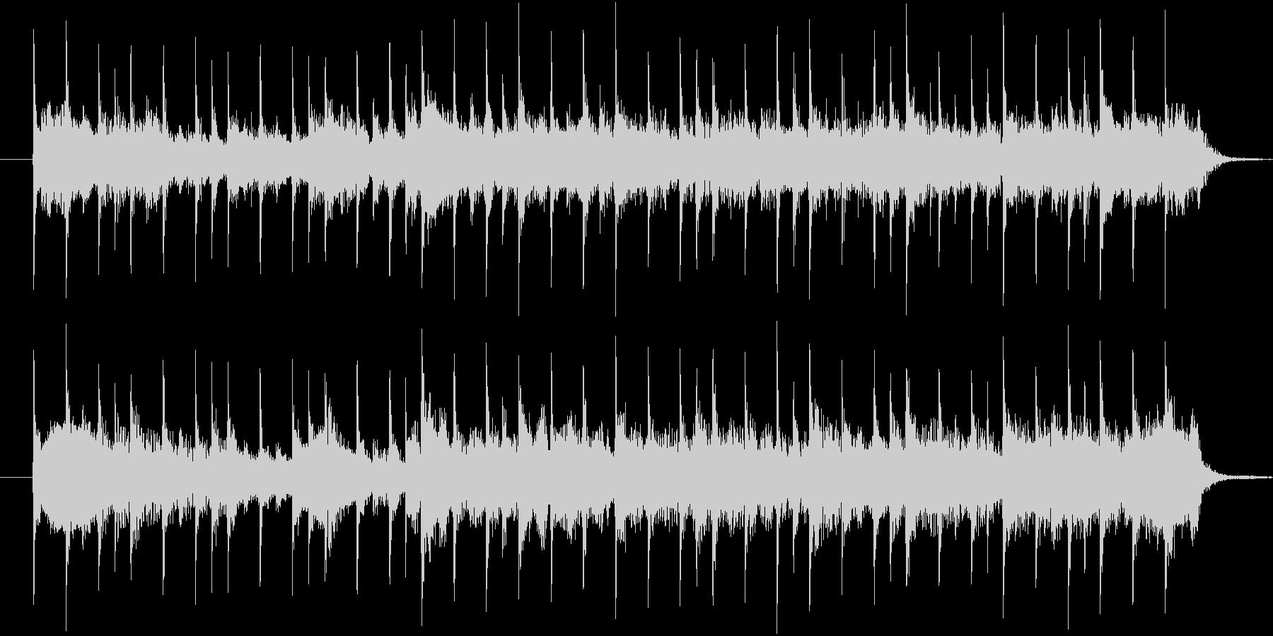 ミステリーbgmの未再生の波形