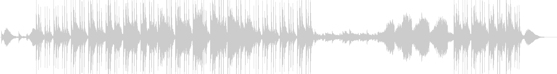 鉄琴の綺麗な音とゆったりとしたバラード系の未再生の波形
