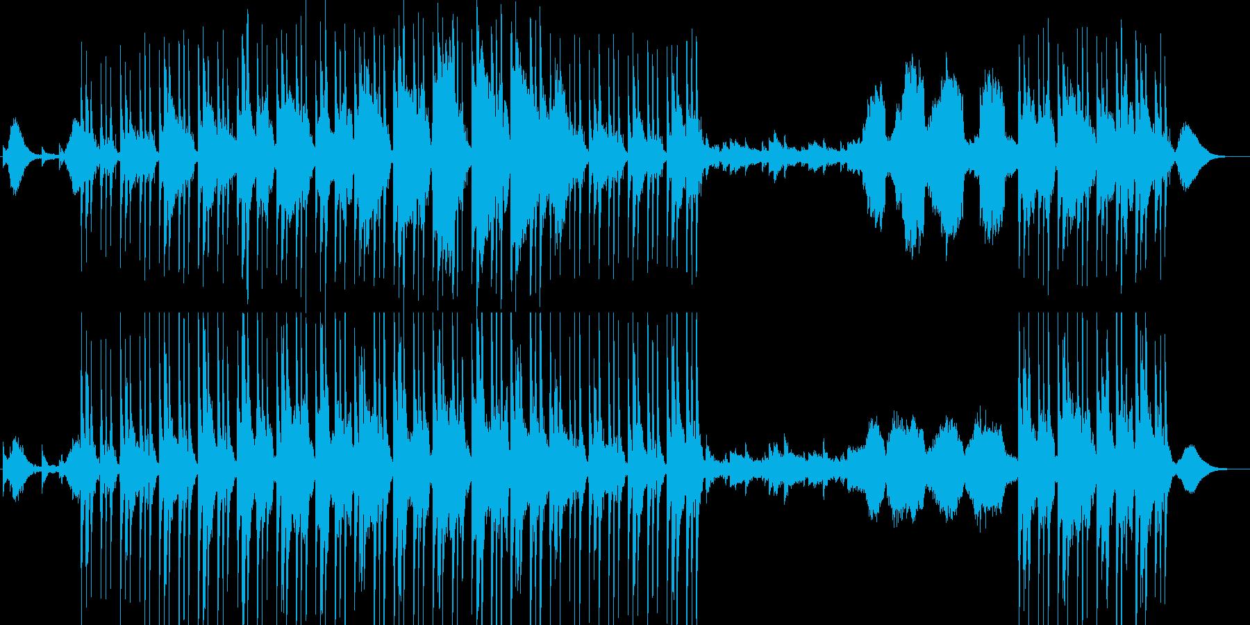 鉄琴の綺麗な音とゆったりとしたバラード系の再生済みの波形