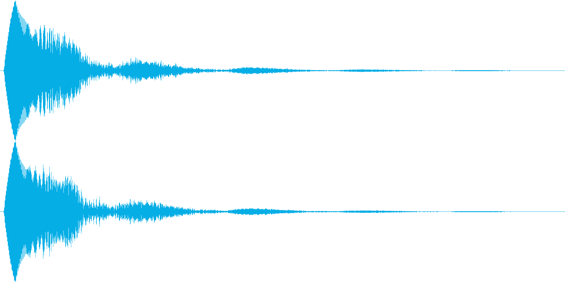 決定音 タッチやポップアップ、カーソル等の再生済みの波形