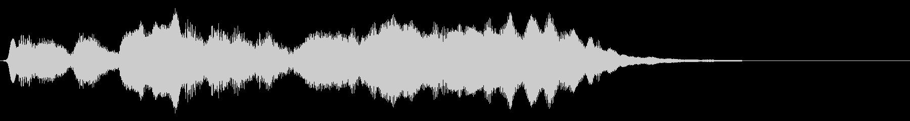 フルートの明るいジングル・場面転換2の未再生の波形