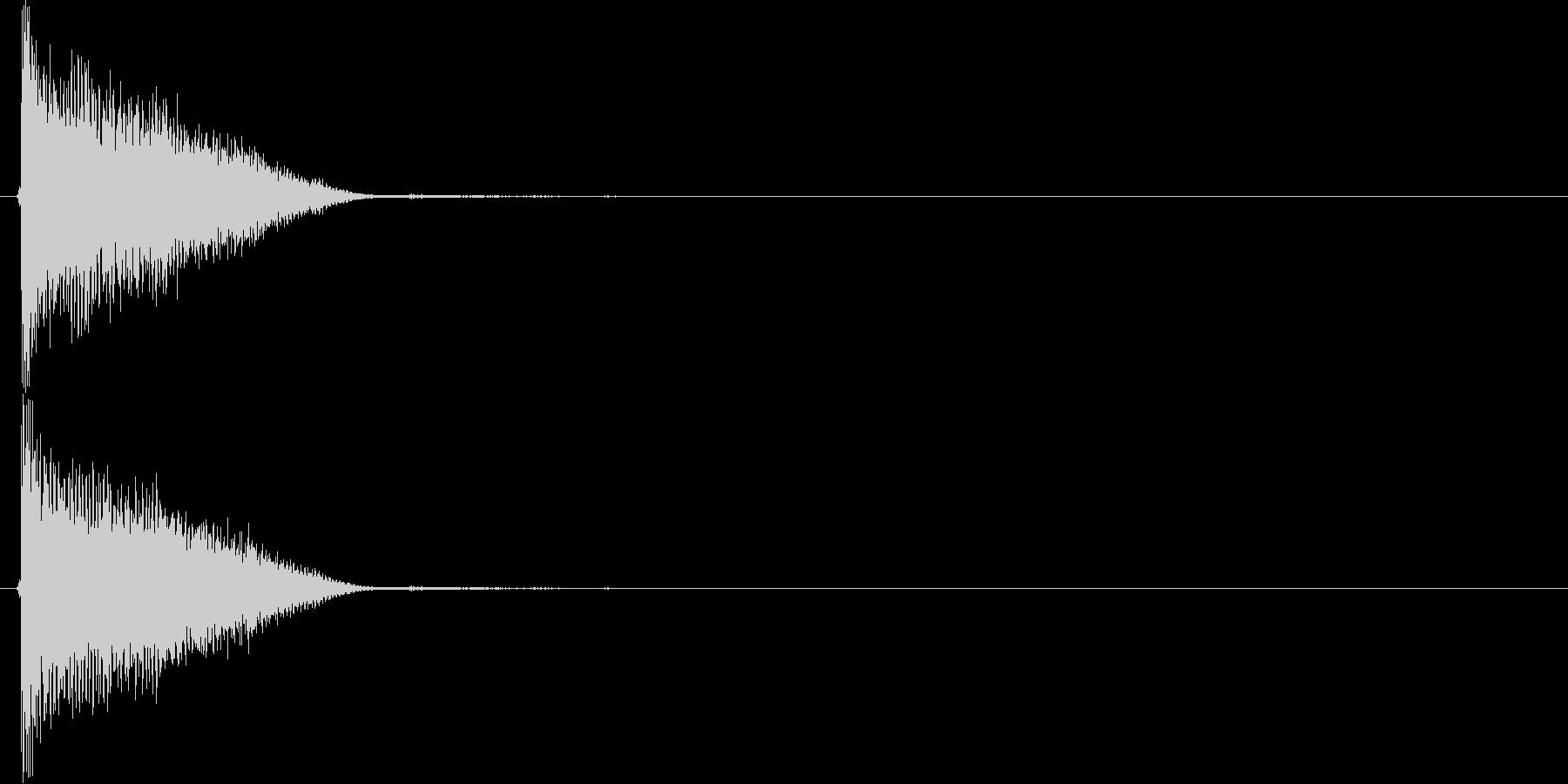 キュィン(アイテム使用、パワーアップ)の未再生の波形