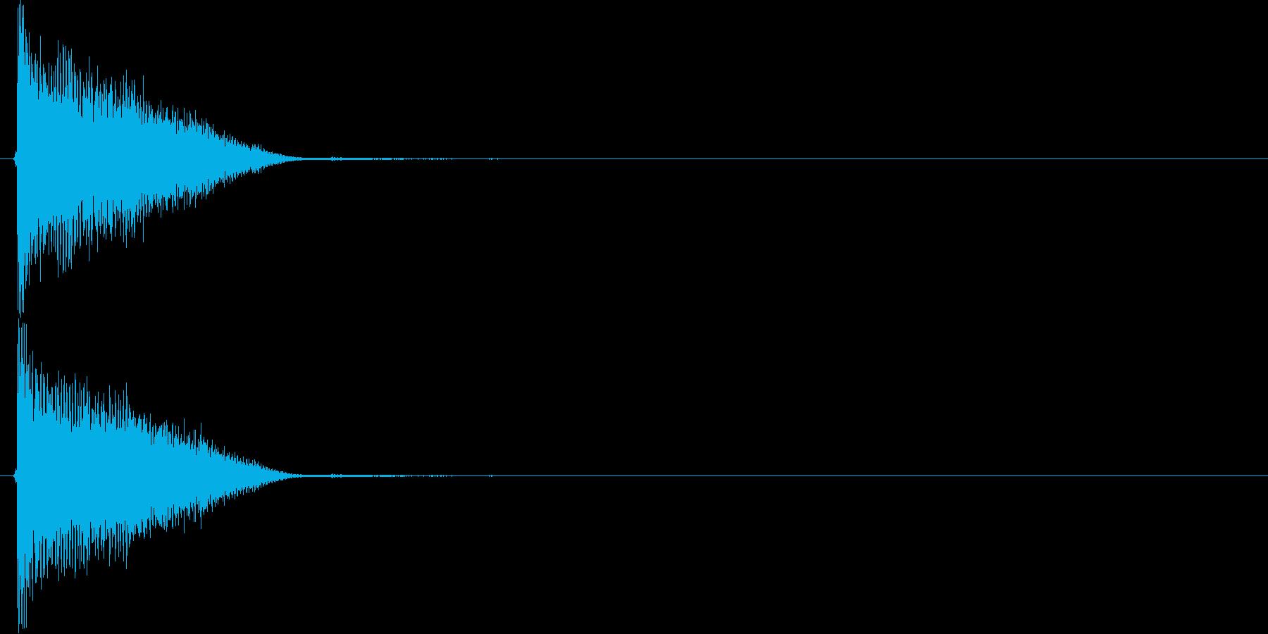 キュィン(アイテム使用、パワーアップ)の再生済みの波形