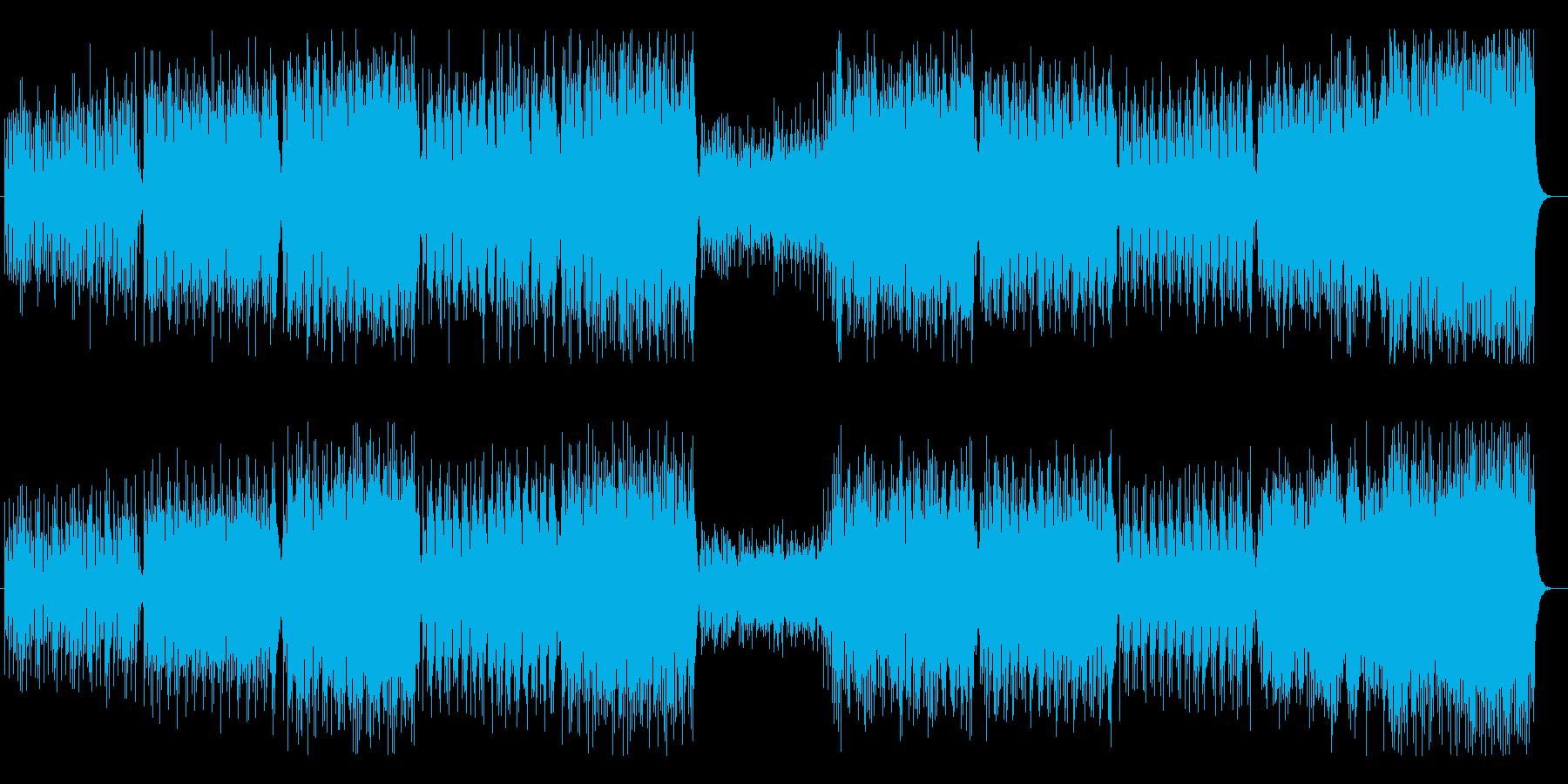 フィンランド民謡のイエヴァン・ポルカの再生済みの波形