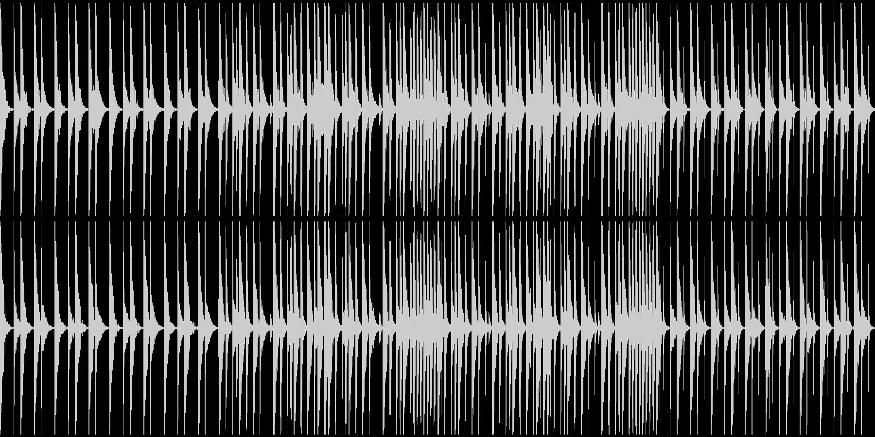 P〇AP、R〇ZAP風のドラムループの未再生の波形