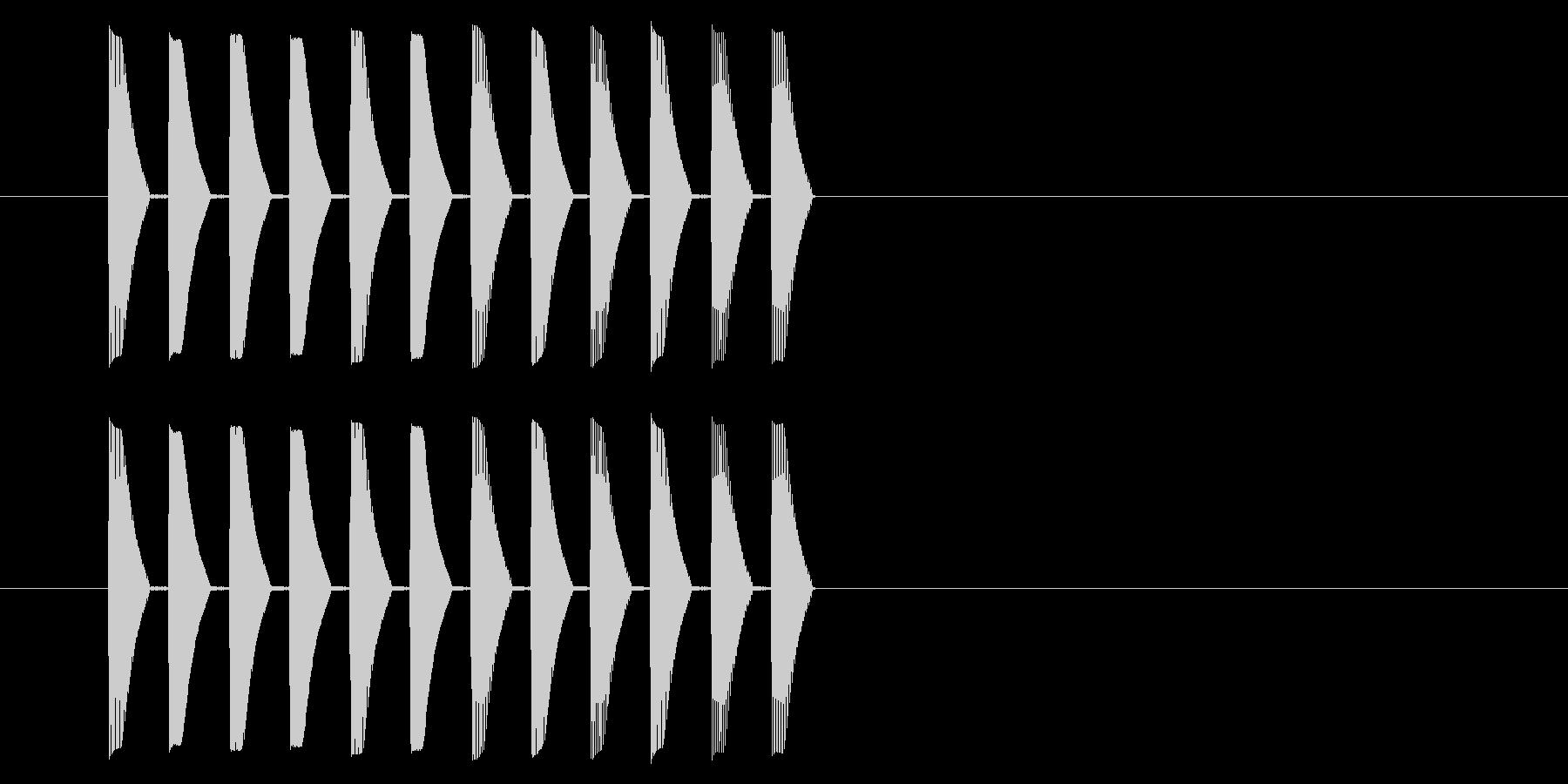 アーケード アクション01-5(ミス)の未再生の波形