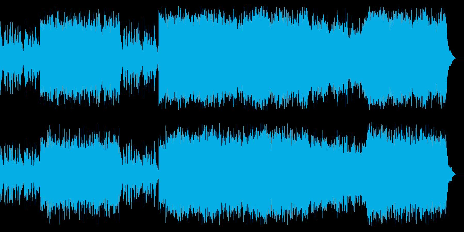 スケール感 格調 エンディング タイトルの再生済みの波形