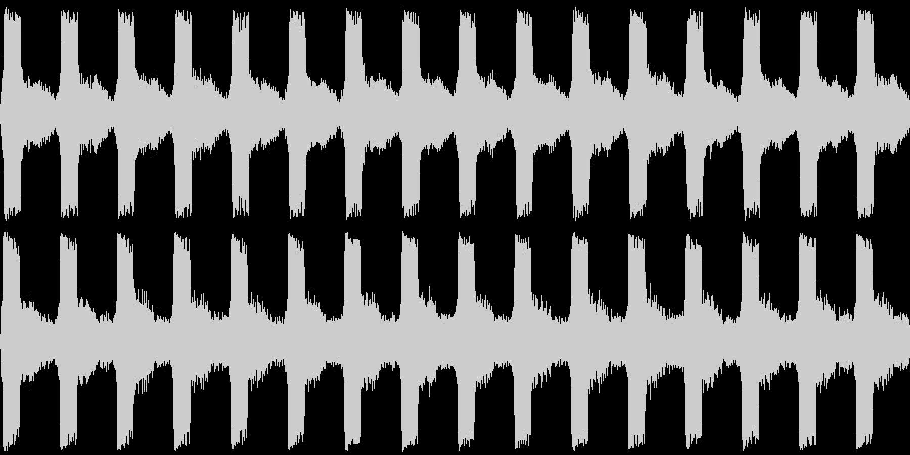 サイレン 警報 アラーム 緊急 2の未再生の波形