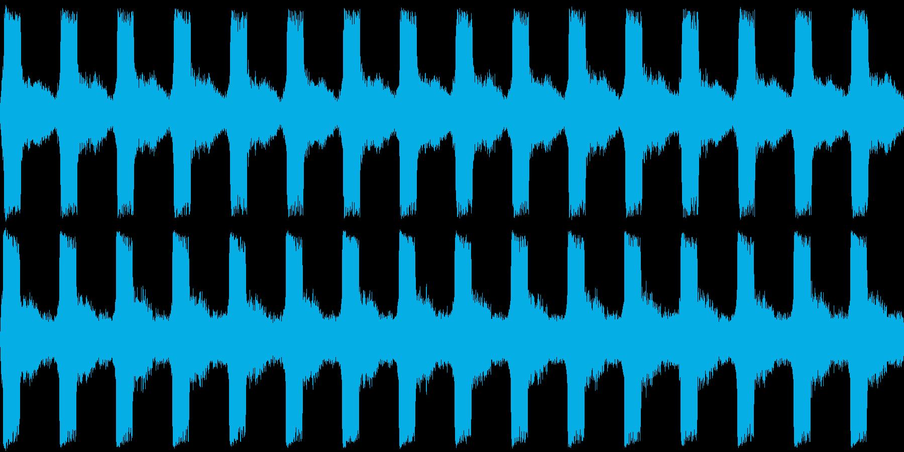 サイレン 警報 アラーム 緊急 2の再生済みの波形