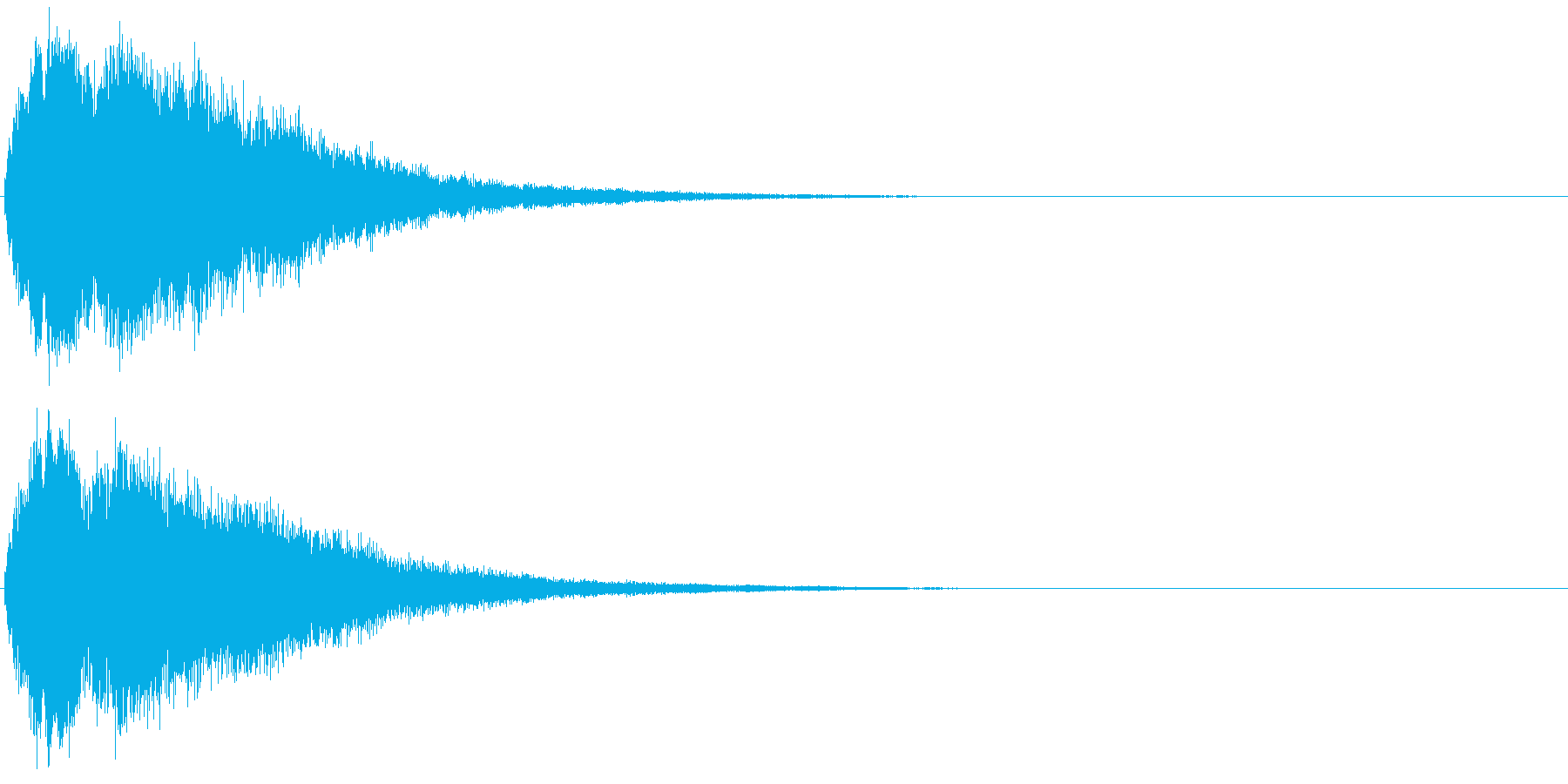 キラキラ☆ピキーン!(星の輝きや魔法)8の再生済みの波形