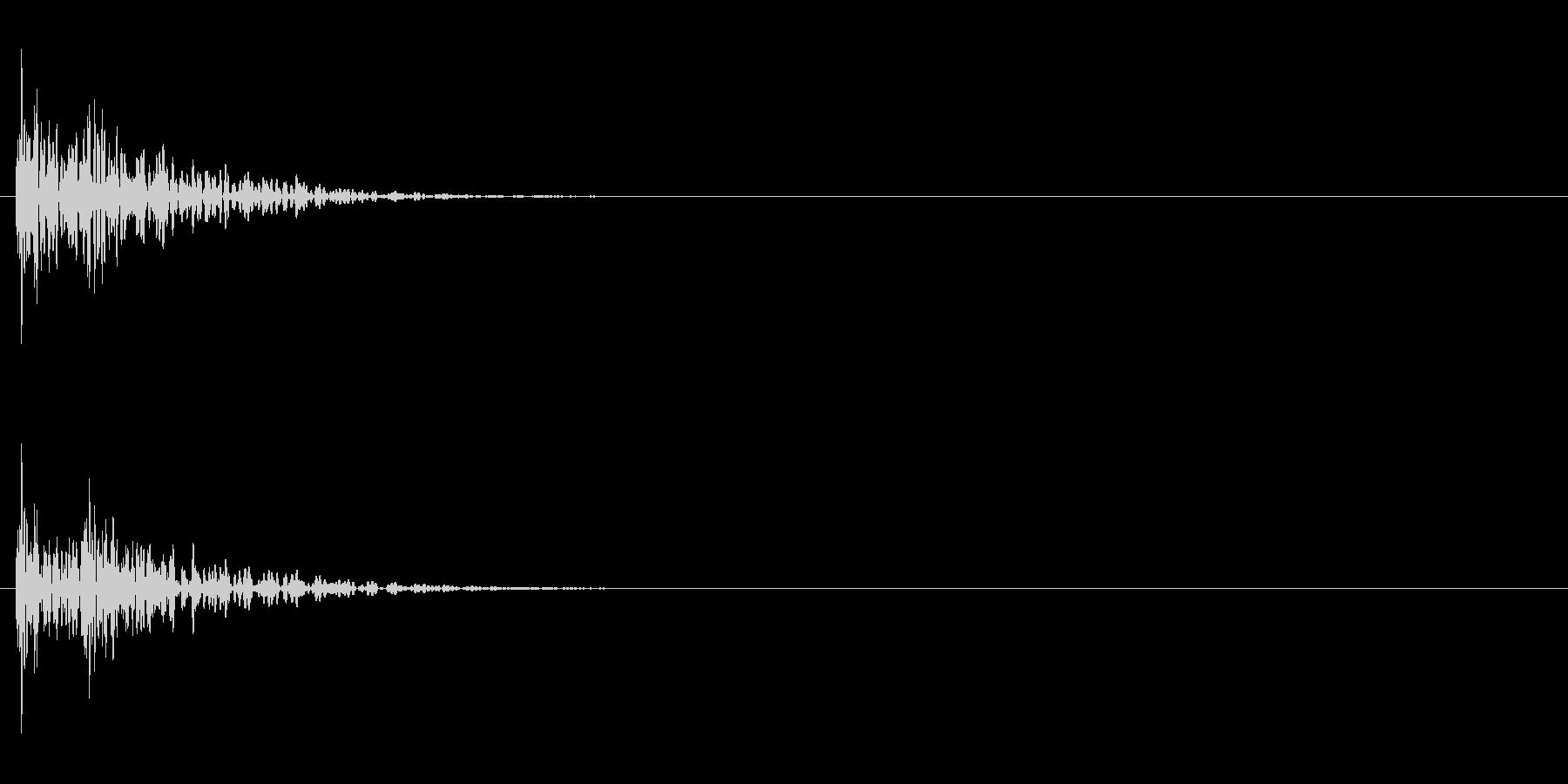 クイズ系02 回答オープン 和太鼓ドドンの未再生の波形