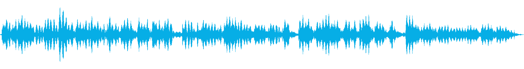 (お経)の再生済みの波形