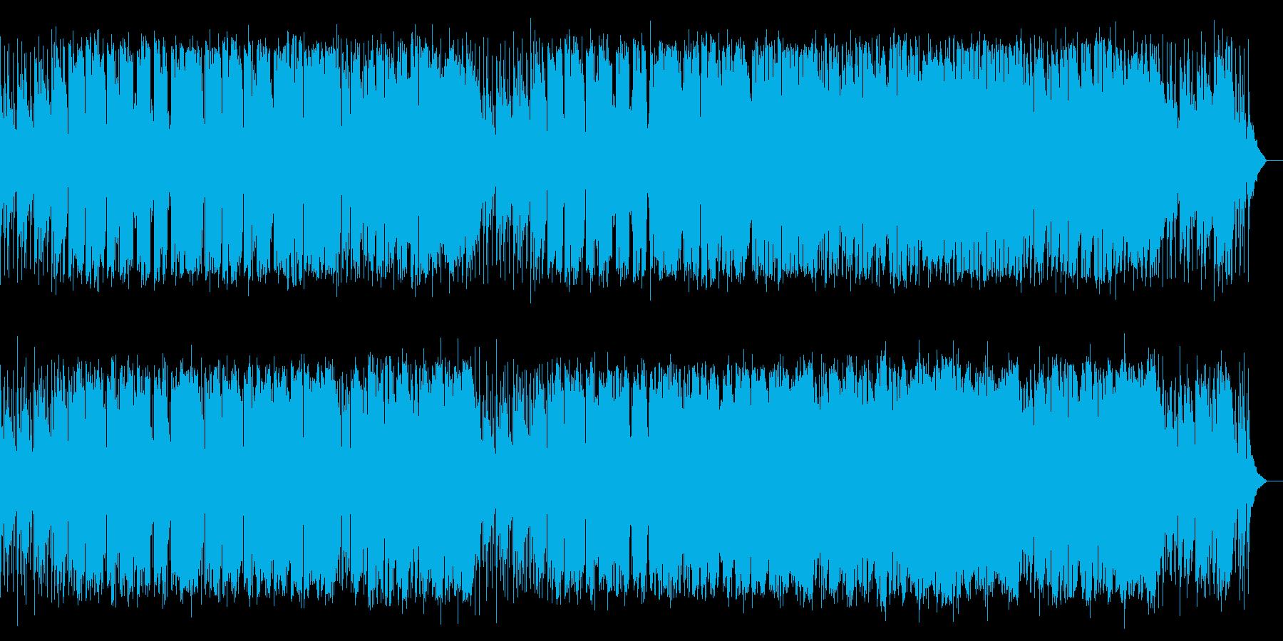 凛とするメロディアスなジャズ風ポップスの再生済みの波形