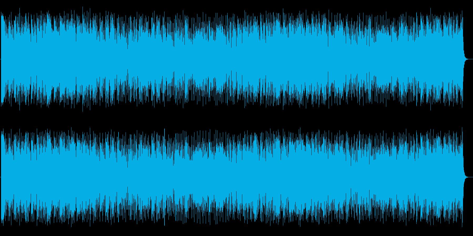涼しげで爽やかなシンセサイザーサウンドの再生済みの波形