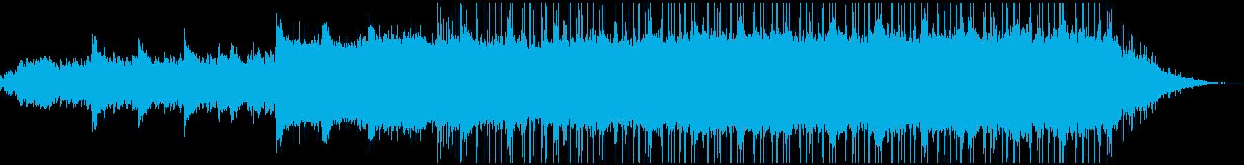 ラウンジ向きのゆったりしたピアノBGMの再生済みの波形