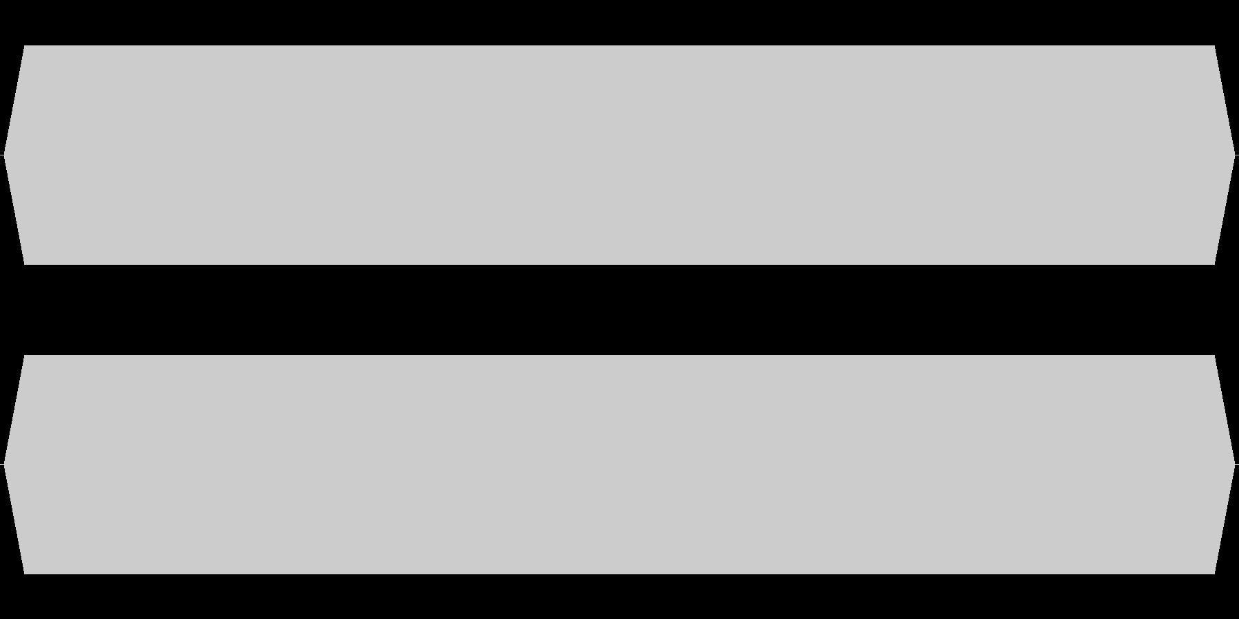 モスキート音 16kHzの未再生の波形
