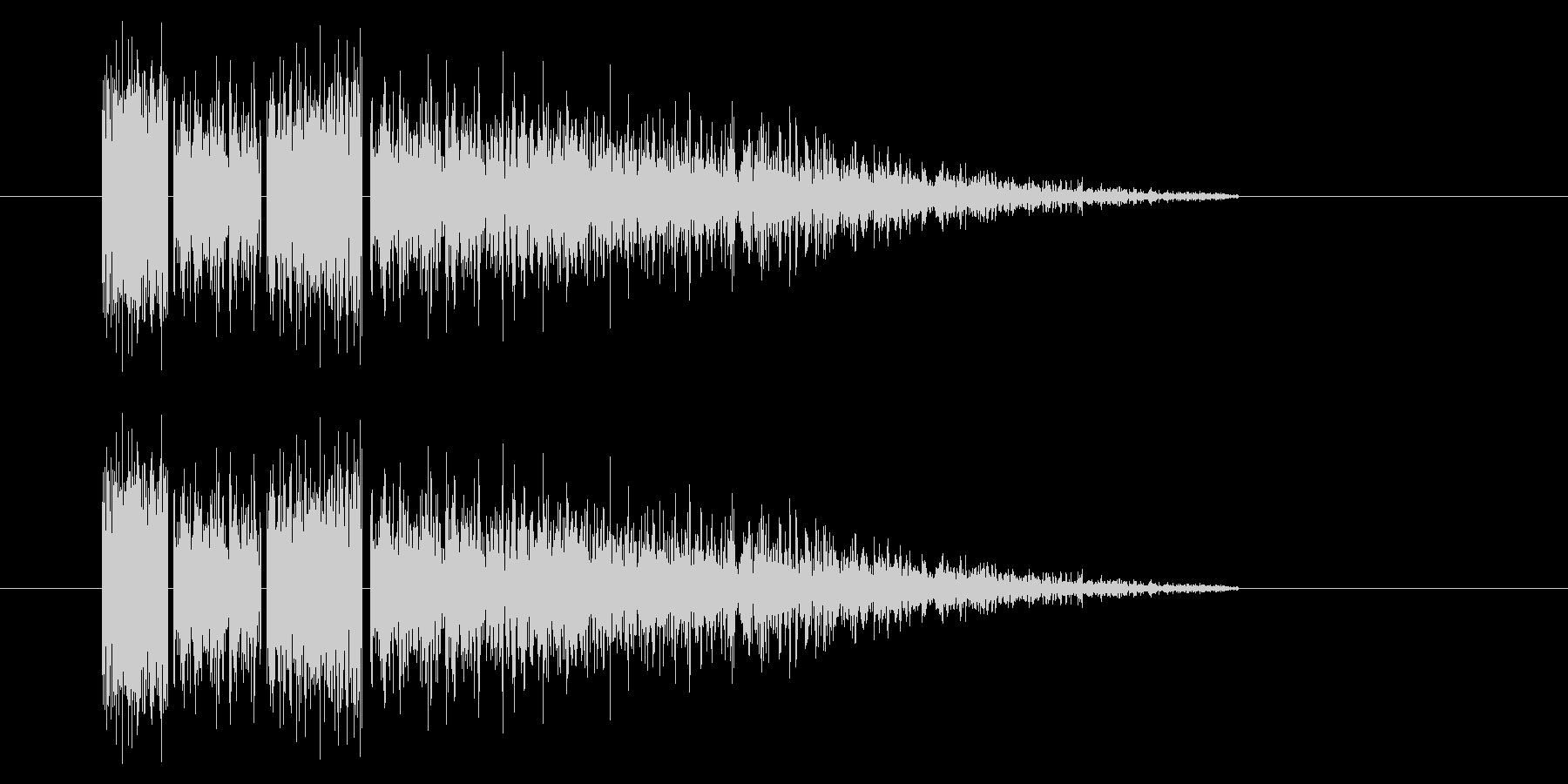 SNES-RPG04-06(魔法 雷2)の未再生の波形