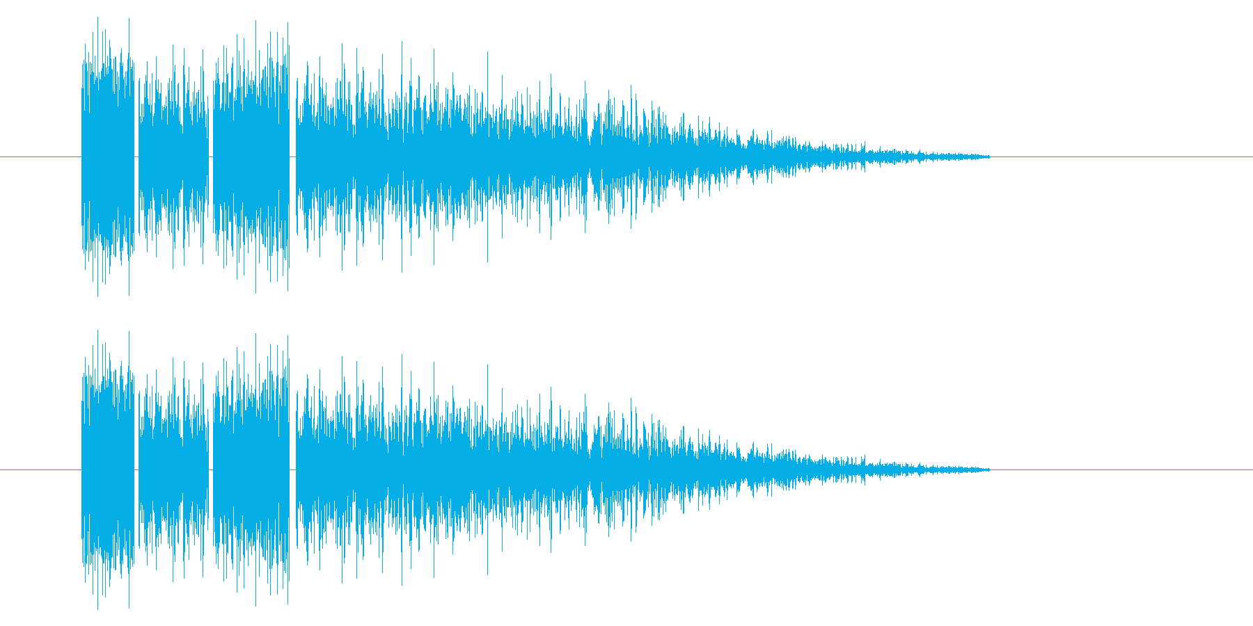 SNES-RPG04-06(魔法 雷2)の再生済みの波形