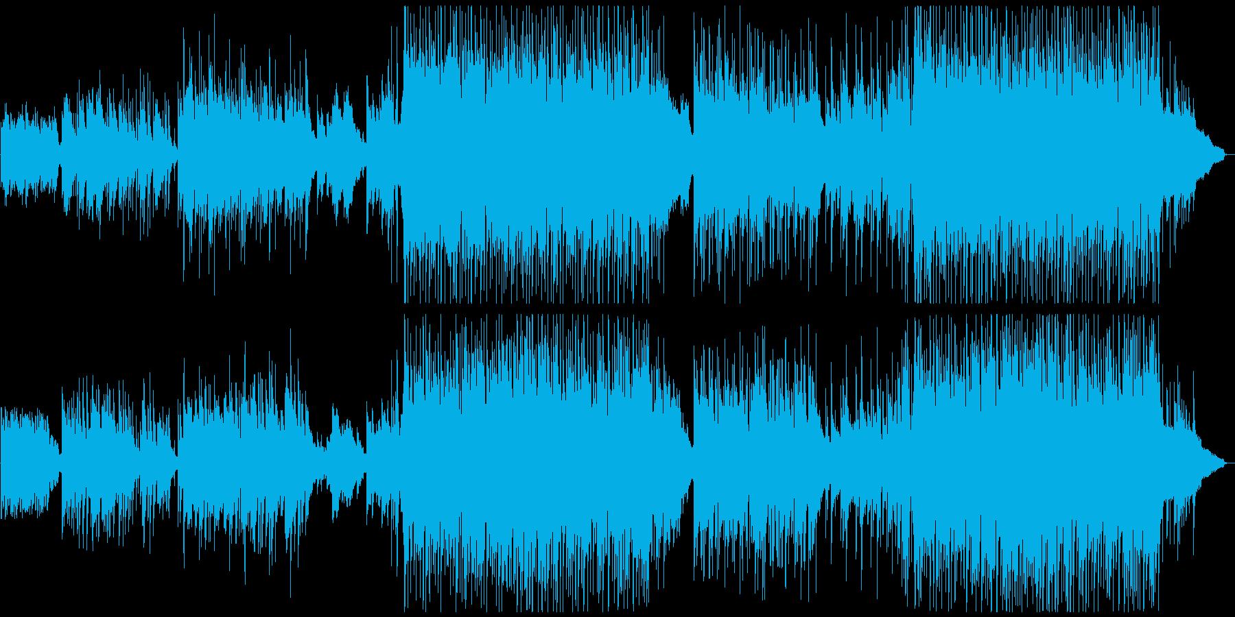 ポップ、ピアノ、Vn、星空をイメージの再生済みの波形