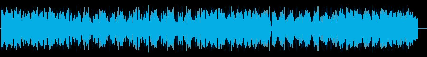 お洒落でクールなグルーヴのAOR音楽の再生済みの波形