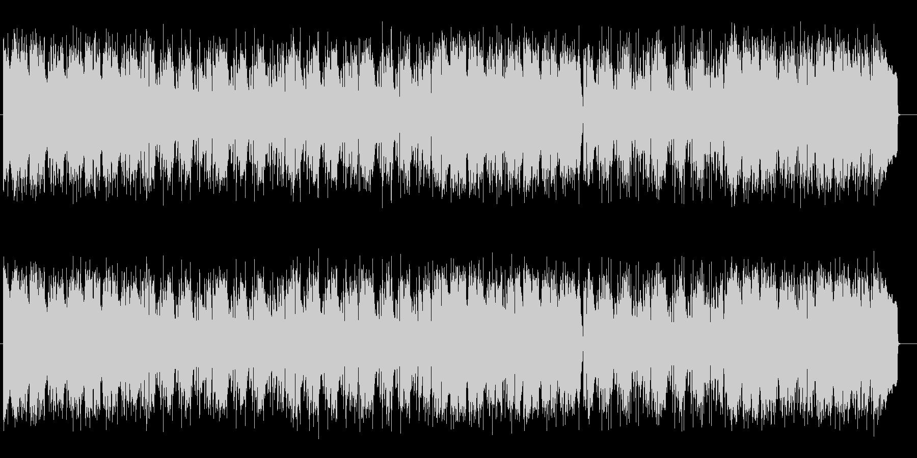 お洒落でクールなグルーヴのAOR音楽の未再生の波形