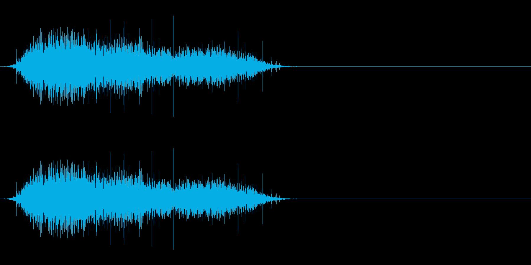 舌なめずり/飲食/空腹/じゅるる・・・の再生済みの波形